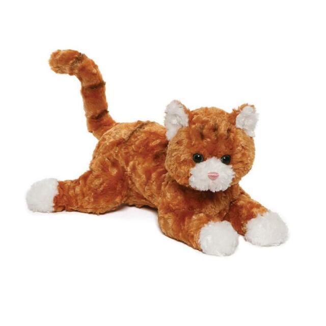 Gund Tabby Cat Plush Stuffed Animal 14 Orange And White Ebay