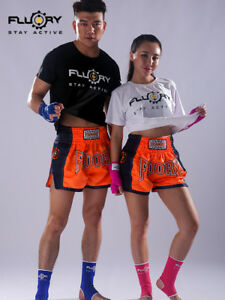 Fluory-Boxing-Training-Muay-Thai-Shorts-MMA-Shorts-Grappling-Material-Arts-Gear