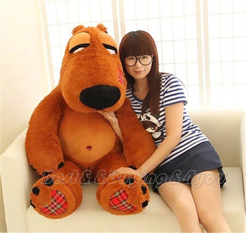 36'' Giant Huge Large Movie Bear Plush Big Stuffed Animal Soft Doll Toy Kid Gift