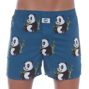 D-E-A-L-International-Boxershorts-Blau-mit-Panda-Print