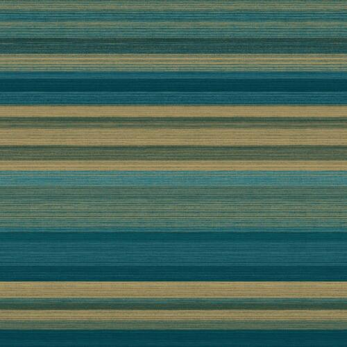 RAYURES VERT OR Papier Peint Métallique Brillant Vinyle rayures Crown Ruben Stripe