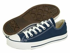 Details about NEW MEN WOMEN CONVERSE CHUCK TAYLOR ALL STAR NAVY WHITE OX ORIGINAL M9697
