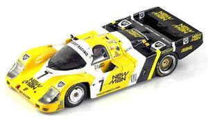 Spark Modèle 1:43 43lm85 Porsche 956 #7 Winner Le Mans 1985 Nouveau