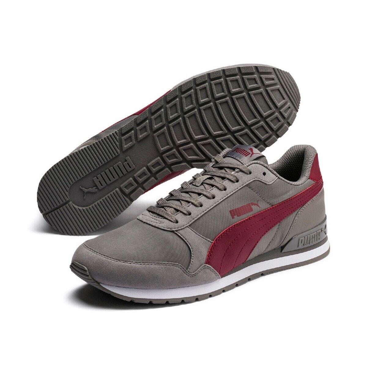 Puma Unisex ST Runner v2 NL Sneaker Turnschuhe Nylon Sportschuhe Charcoal 365278