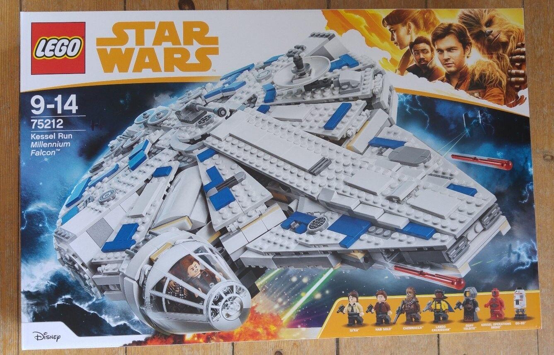 LEGO StarWars Kessel Run Millennium Falcon (75212) NEU OVP