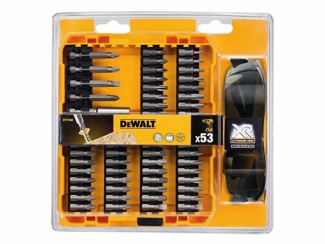 DEWALT - DT71540 High Performance Brushless Screwdriving bit Set 53 Piec
