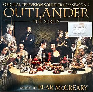 Bear McCreary 2xLP Outlander: The Series - LTD Numbered, Red & Black Vinyls