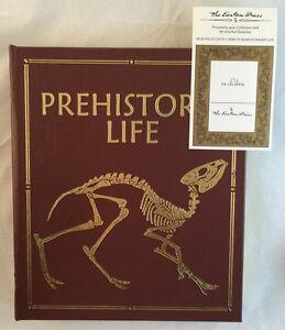 Easton Press Leather Large Format Prehistoric Life Dinosaurs Coffee