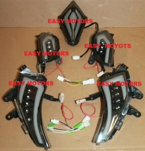 KIT-4-FRECCE-ANTERIORIE-POSTERIORe-SEQUENZIALI-FANALE-STOP-a-LED-YAMAHA-TMAX-530