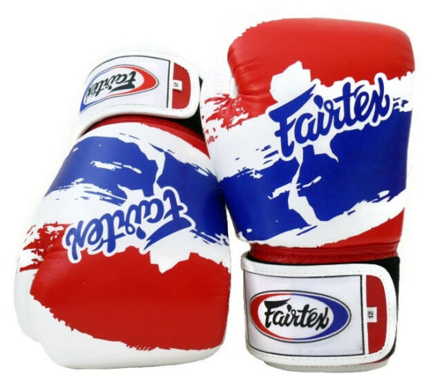 Fairtex BGV1 Muay Thai Boxing Gloves Thai Pride Limited Ed Training Sparring MMA