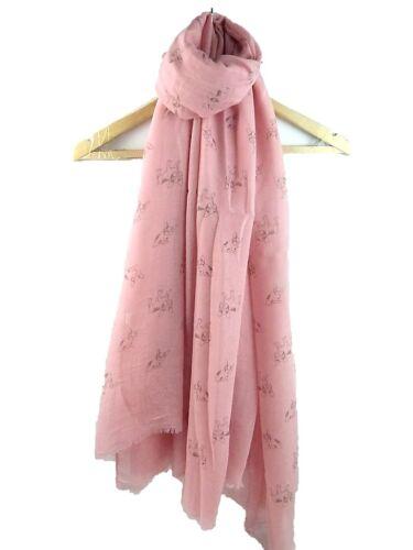 womens french bulldog dog breed show print ladies scarf printed fashion shawl