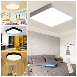 Details zu 18W - 48W Acryl Dimmbar Deckenleuchte LED Deckenlampe  Schlafzimmer Wandleuchte