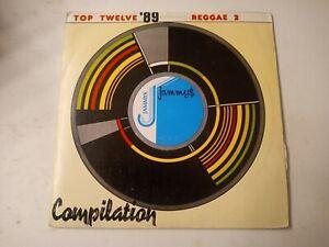 Top-Twelve-039-89-Reggae-2-Various-Artists-Vinyl-LP-1989
