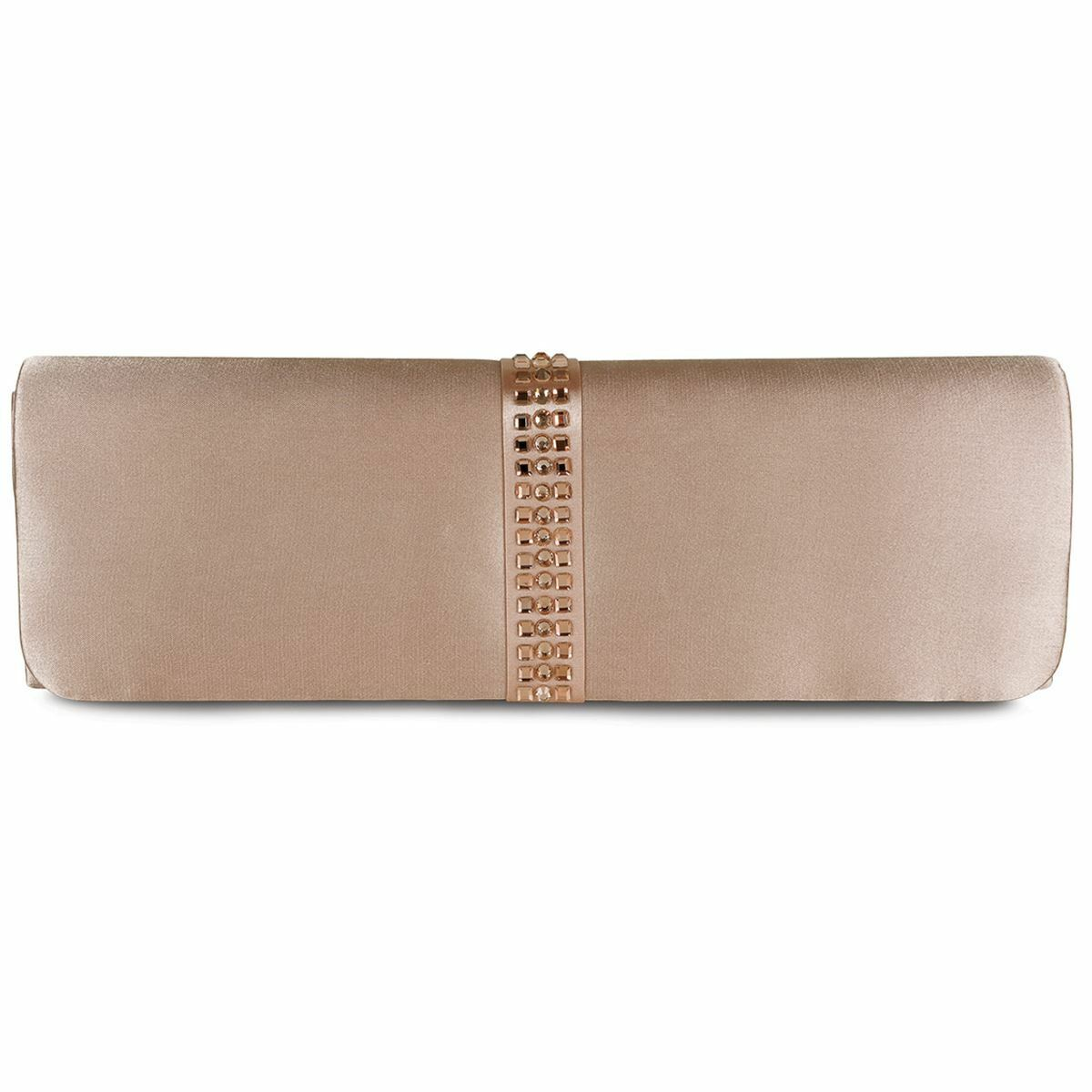 Damen Smart Zeh Zeh Zeh Ausschnitt Diamanten Steifen Satin Pumps Clutch Tasche 8d5616