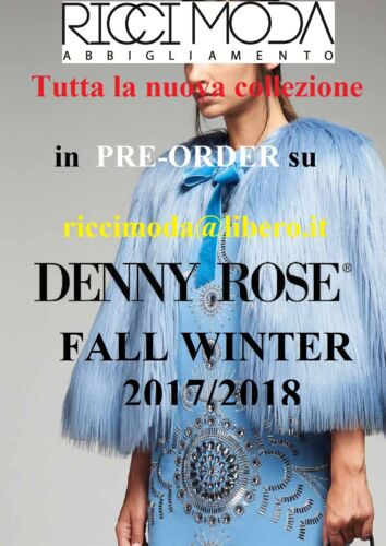 50/% 721DD90016 € 47,50 Denny Rose accessor A//I 2017-2018 disponibile Outlet