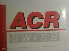 Aufkleber/Sticker: ACR swiss (24071655)