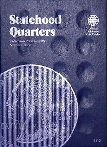 Whitman-Statehood-Quarters-Coin-Folder-Book-3-2006-2009-8112