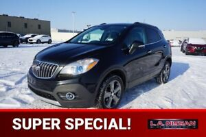 2014 Buick Encore AWD LEATHER Leather,  Back-up Cam,  A/C,
