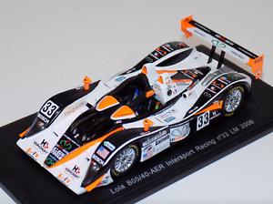 1 43 Spark Models Lola B05 40 AER car Hours Hours Hours of LeMans 2006 S0243 94814d