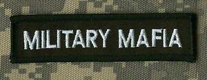 Noir Label Society Militaire Mafia BLS Fan Club Thermocollant Touche Patch