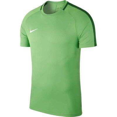 T-shirts Green Black Refreshing And Enriching The Saliva Competent Nike Academy 18 Mens Short Sleeve Training T-shirt Top