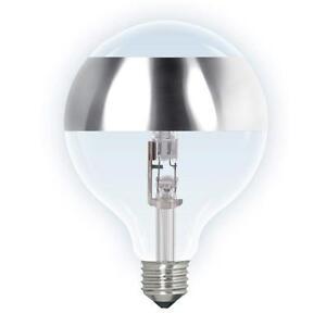 Ampoule halogene globe G125 avec anneau miroir E27 - France - État : Neuf: Objet neuf et intact, n'ayant jamais servi, non ouvert, vendu dans son emballage d'origine (lorsqu'il y en a un). L'emballage doit tre le mme que celui de l'objet vendu en magasin, sauf si l'objet a été emballé par le fabricant d - France