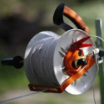 Gallagher Geared Electric Fence Kite Reel Free Handle