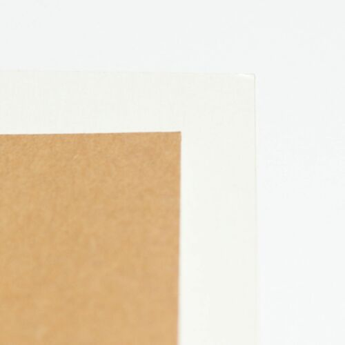 Eco 10 Sheets of A4 Multi White Rustic Kraft Craft Card 350GSM