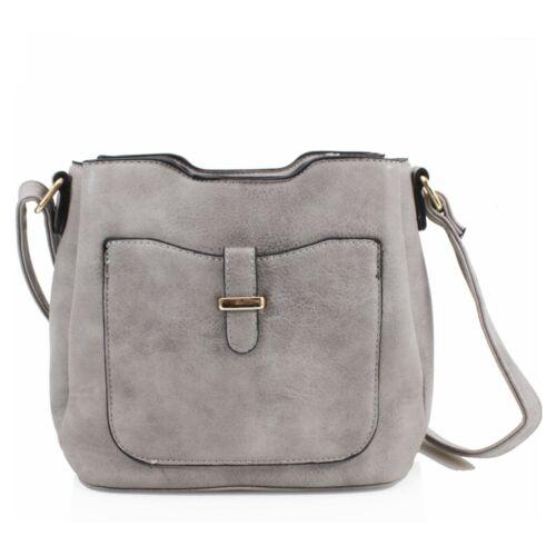 Ladies Crossbody Bag Women/'s Messenger Evening Shoulder Handbag UK