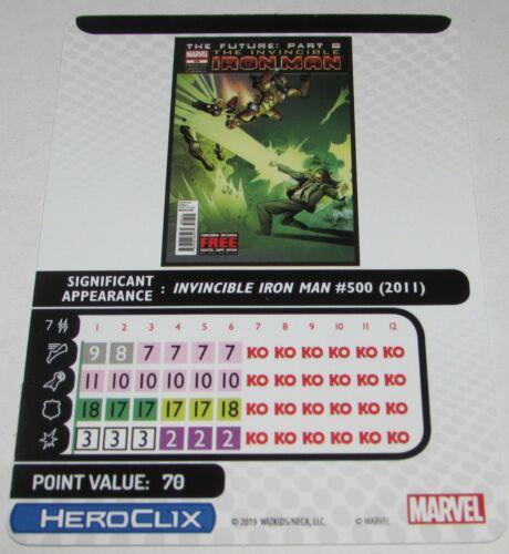 MANDARIN 061 Captain America and the Avengers Marvel Heroclix Super Rare