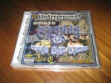Chicano Rap CD Triple C - Underground Barrio Legends - Dominator Rebel - 805