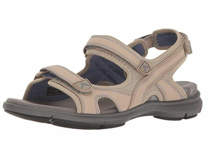 Aravon Revsandal Size US 10.5 M (B) EU 42 Women's Three Strap Open Toe Sandal
