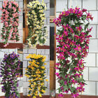 Pop 1 Bunch Lily Bracketplant Garland Vine Home Wedding Decor Charm Flowers DIY