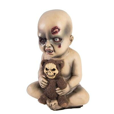 Evil Baby Prop with Teddy Bear, 75067, Forum Novelties, Gruesome