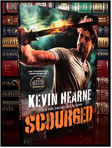 Scourged-SIGNED-by-KEVIN-HEARNE-New-Iron-Druid-Hardback-1st-Edition-amp-Printing