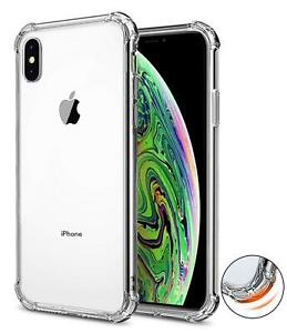 For-iPhone-XS-Max-XR-Clear-Transparent-Shockproof-TPU-Bumper-Case-Cover