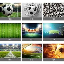 Boys Football Goal Score Football Pitch Stadium Kids Wall Mural Photo Wallpaper