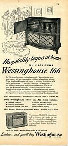 1948-Print-Ad-of-Westinghouse-Model-166-Radio-Record-Player-amp-178-Table-Model