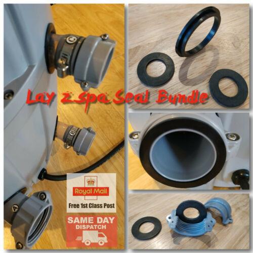 Monaco Lay Z Spa Rubber Seal Bundle A Miami C /& B Seals Vegas Palm *New*