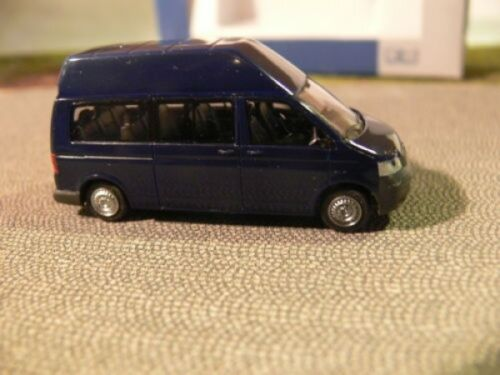 1/87 Rietze VW t5 LR alta techo autobús azul oscuro 11512