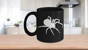 Spider-Mug-Black-Coffee-Cup-Funny-Gift-for-Creepy-Halloween-Sense-Arachnology