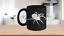 Spider-Mug-Black-Coffee-Cup-Funny-Gift-for-Creepy-Halloween-Sense-Arachnology miniature 1