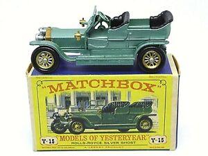 Matchbox-Lesney-Y15-1-Rolls-Royce-Fantasma-de-Plata-en-Caja-D3-039-tipo-039