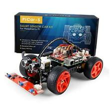 Raspberry Pi Car Diy Robot Kit For Adultsvisual Programming With Picar S