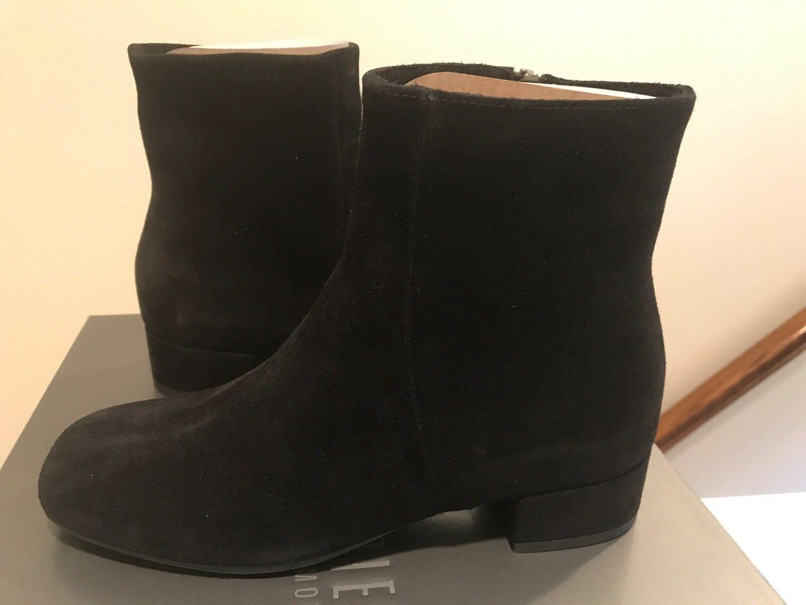 NEW La Canadienne donna's Jillian Ankle stivali. 5 1 2 M. nero Suede Waterproof
