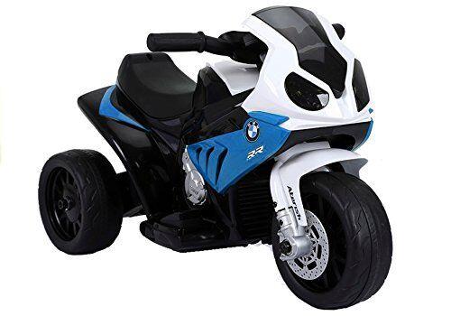 Elektromotorrad für Kinder Kinderfahrzeug Motorrad - BMW S1000RR - Blau