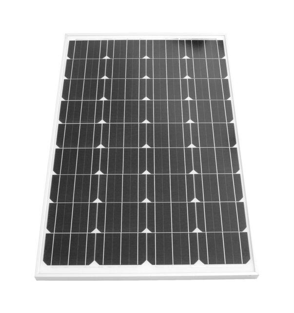 Solarpanel 80 Watt Mono Solarmodul Solarzelle Photovoltaik TÜV Zertifikat NEU