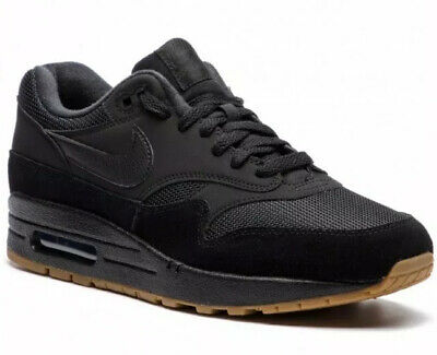 Nike Air Max 1 Premium Shoes Black Gum