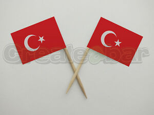 72-Turkish-Flag-Picks-Buffet-Sandwich-Food-Party-Sticks-Toppers-TURKEY-Flags