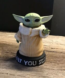 Baby Yoda Figure The Mandalorian 3D Printed Fan Art